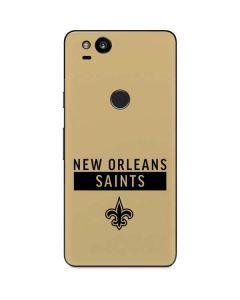 New Orleans Saints Gold Performance Series Google Pixel 2 Skin