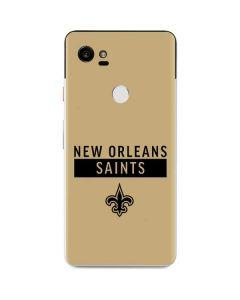 New Orleans Saints Gold Performance Series Google Pixel 2 XL Skin