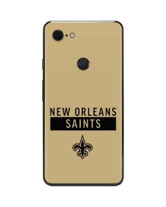 New Orleans Saints Gold Performance Series Google Pixel 3 XL Skin