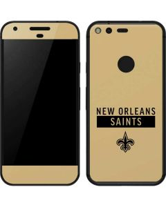 New Orleans Saints Gold Performance Series Google Pixel Skin