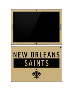 New Orleans Saints Gold Performance Series Google Pixel Slate Skin