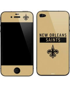 New Orleans Saints Gold Performance Series iPhone 4&4s Skin