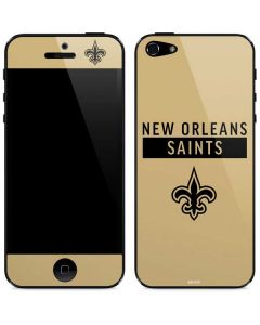 New Orleans Saints Gold Performance Series iPhone 5/5s/SE Skin