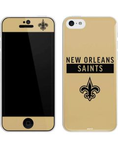 New Orleans Saints Gold Performance Series iPhone 5c Skin