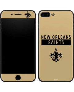 New Orleans Saints Gold Performance Series iPhone 7 Plus Skin
