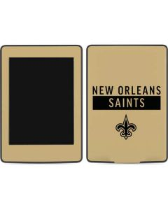 New Orleans Saints Gold Performance Series Amazon Kindle Skin