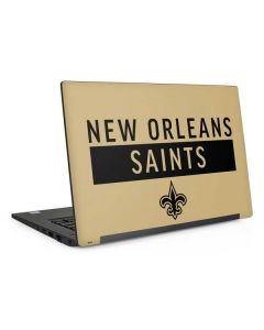 New Orleans Saints Gold Performance Series Dell Latitude Skin