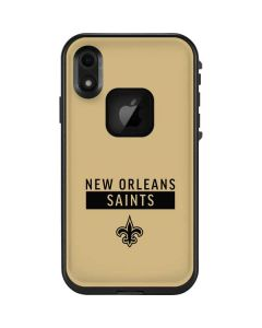 New Orleans Saints Gold Performance Series LifeProof Fre iPhone Skin