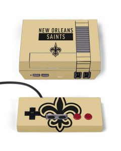 New Orleans Saints Gold Performance Series NES Classic Edition Skin