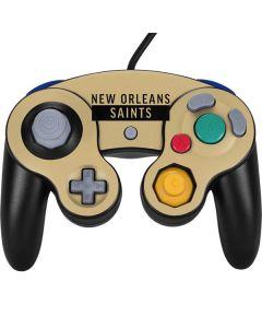 New Orleans Saints Gold Performance Series Nintendo GameCube Controller Skin