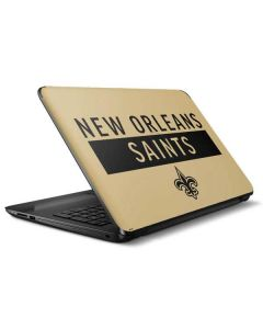 New Orleans Saints Gold Performance Series HP Notebook Skin