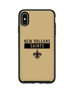 New Orleans Saints Gold Performance Series Otterbox Symmetry iPhone Skin