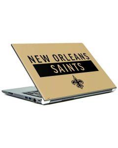 New Orleans Saints Gold Performance Series Portege Z30t/Z30t-A Skin