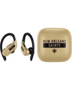 New Orleans Saints Gold Performance Series PowerBeats Pro Skin