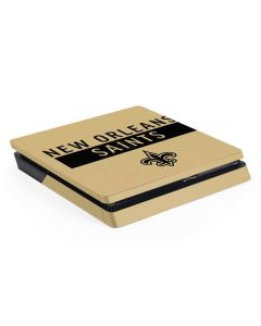 New Orleans Saints Gold Performance Series PS4 Slim Skin