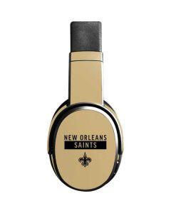 New Orleans Saints Gold Performance Series Skullcandy Crusher Wireless Skin