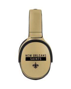 New Orleans Saints Gold Performance Series Skullcandy Venue Skin