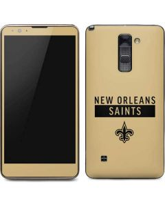 New Orleans Saints Gold Performance Series Stylo 2 Skin