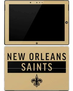 New Orleans Saints Gold Performance Series Surface 3 Skin