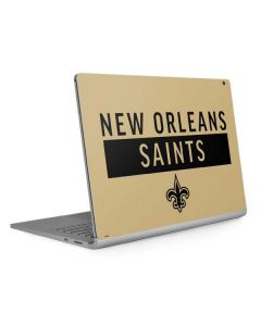 New Orleans Saints Gold Performance Series Surface Book 2 15in Skin