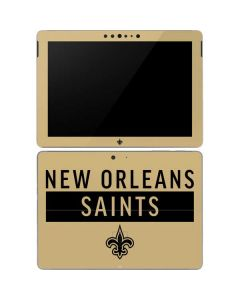 New Orleans Saints Gold Performance Series Surface Go Skin