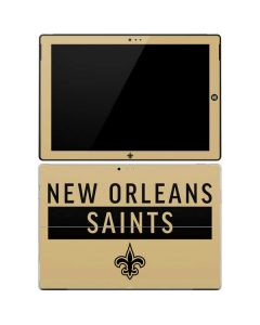 New Orleans Saints Gold Performance Series Surface Pro 3 Skin