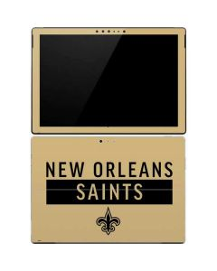 New Orleans Saints Gold Performance Series Surface Pro 4 Skin
