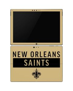 New Orleans Saints Gold Performance Series Surface Pro 6 Skin