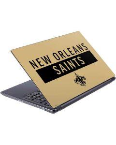 New Orleans Saints Gold Performance Series V5 Skin