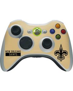 New Orleans Saints Gold Performance Series Xbox 360 Wireless Controller Skin
