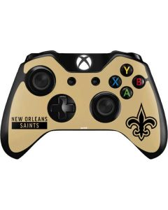New Orleans Saints Gold Performance Series Xbox One Controller Skin