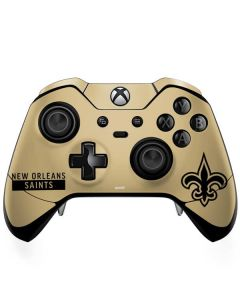 New Orleans Saints Gold Performance Series Xbox One Elite Controller Skin