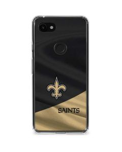 New Orleans Saints Google Pixel 3a XL Clear Case