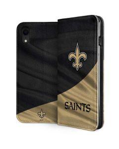 New Orleans Saints iPhone XR Folio Case