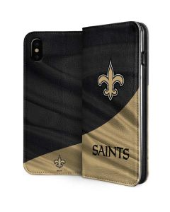 New Orleans Saints iPhone XS Max Folio Case