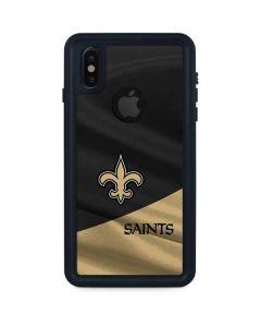 New Orleans Saints iPhone XS Waterproof Case