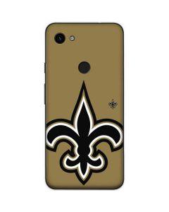 New Orleans Saints Large Logo Google Pixel 3a Skin