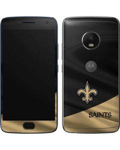 New Orleans Saints Moto G5 Plus Skin