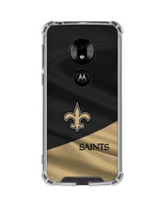 New Orleans Saints Moto G7 Play Clear Case