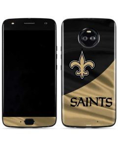 New Orleans Saints Moto X4 Skin