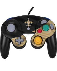 New Orleans Saints Nintendo GameCube Controller Skin