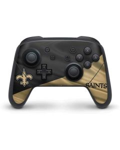 New Orleans Saints Nintendo Switch Pro Controller Skin