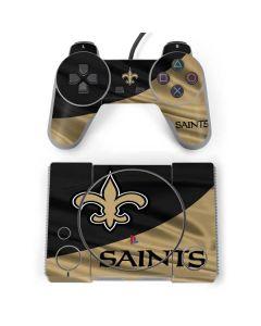 New Orleans Saints PlayStation Classic Bundle Skin