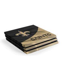 New Orleans Saints PS4 Pro Console Skin