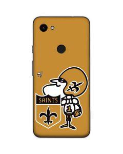 New Orleans Saints Retro Logo Google Pixel 3a Skin