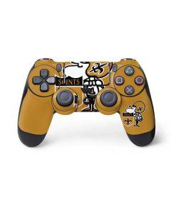 New Orleans Saints Retro Logo PS4 Controller Skin