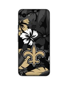 New Orleans Saints Tropical Print Google Pixel 3a Skin