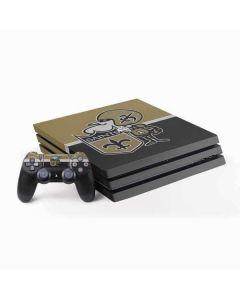 New Orleans Saints Vintage PS4 Pro Bundle Skin