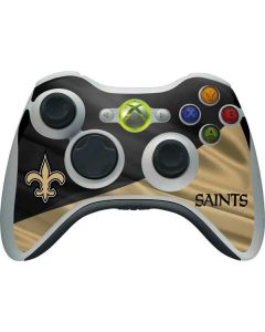 New Orleans Saints Xbox 360 Wireless Controller Skin