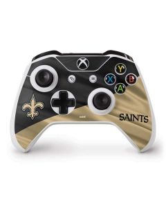 New Orleans Saints Xbox One S Controller Skin